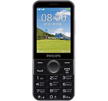 Телефон Philips Xenium E580 Black